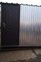 Дверь металлическая размеры (по коробке):  86*205 см  и 96*205 см