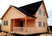 Продам недорого сруб Дома-Бани 8х6 м с установкой в Слуцк