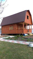 Дом сруб 6х6м Витязь из бруса