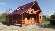 Строительство каркасных домов,  бань,  беседок в Слуцке