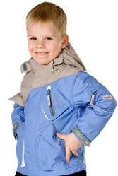 Куртка для мальчика,  зимняя,  серебристо-черная