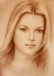 Портрет на заказ,  по фотографии,  копии картин великих мастеров!